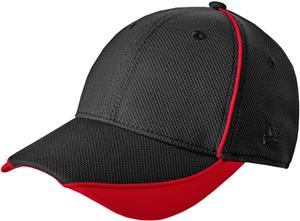 New Era Adult Contrast Piped BP Performance Caps