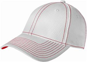 New Era Adult Performance Mesh Contrast Stitch Cap