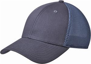 New Era Adult Snapback Contrast Front Mesh Caps