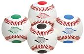 Diamond 4 Color Dot Visual Training Baseballs
