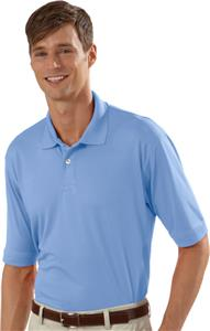 Izod Mens Performance Poly Solid Jersey Polo Shirt