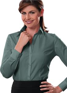 Van Heusen Ladies' Silky Poplin Button Up Shirts