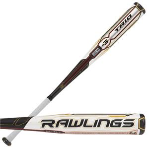 Rawlings TRIO BBCOR Balanced Adult Baseball Bat