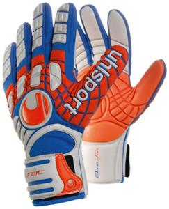 Uhlsport Akkurat Aquasoft Soccer Goalie Gloves