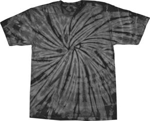 Colortone Spider Tie Dye Short Sleeve Tee Shirts