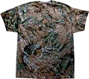 Colortone Crystal Camo Tie Dye SS Tee Shirts