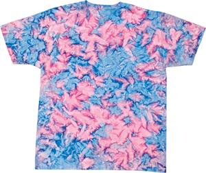 Colortone Cotton Candy Tie Dye SS Tee Shirt