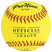 Pro Nine Official League Reduced Injury Softballs