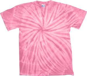 Dyenomite Cyclone Pink Tie Dye Short Sleeve TShirt