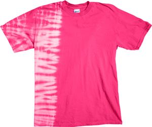 Dyenomite Fusion Pink Tie Dye Short Sleeve T-Shirt