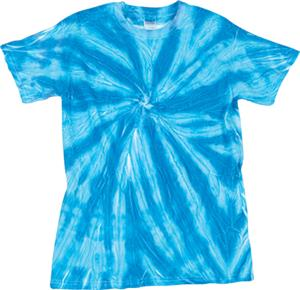 Dyenomite Neon Pinwheel Tie Dye Tee Shirts
