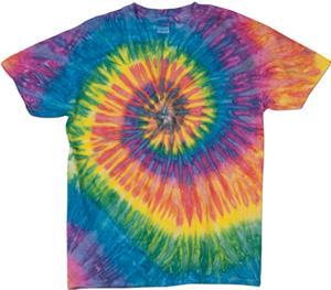 Dyenomite Ripple Tie Dye Short Sleeve Tee Shirts