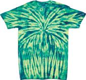 Dyenomite Electric Spider Tie Dye Short Sleeve Tee
