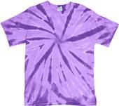 Dyenomite Pinwheel Tie Dye Short Sleeve Tee Shirts
