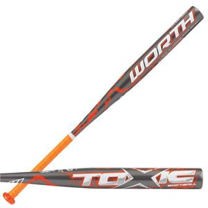 Worth Toxic Max Alloy ASA Slowpitch Softball Bat