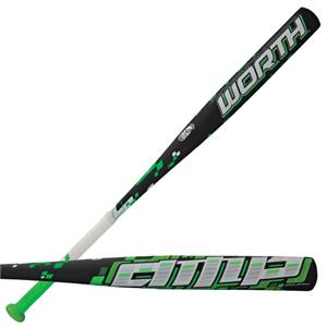 Worth Amp Alloy ASA Slowpitch Softball Bat