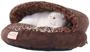 Armarkat Semi-Covered Cat Beds - C31HKF/BW