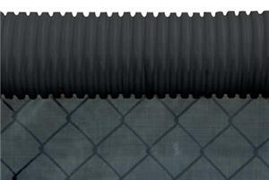 Blazer Athletic Plastic Corrugated Fence Crown