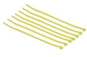 Blazer Athletic Fence Crown Zip Ties