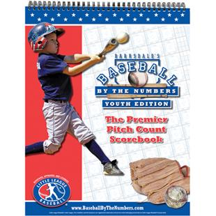 Baseball Pitch Count Little League Scorebook