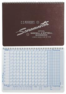 Original Scoremaster Baseball & Softball Scorebook