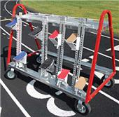 Blazer Athletic Universal Starting Block Cart