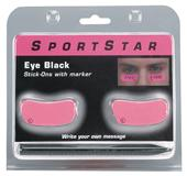 Eye Black Pink Stick-Ons
