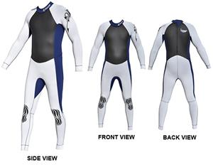 To Exceed Men's Emperor 3/2mm Full Wet Suit