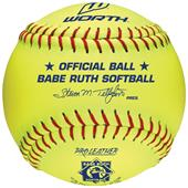"Worth Babe Ruth Junior League 12"" Softballs"