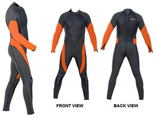 To Exceed Men's Electro 5/4mm Full Wet Suit