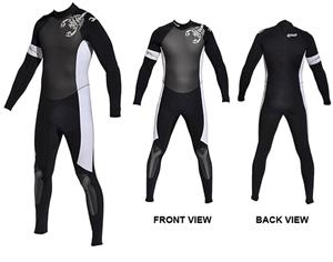 To Exceed Men's Execute 3/2mm Full Wet Suit