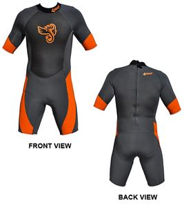 To Exceed Men's Electric 3/2mm Shorty Wet Suit
