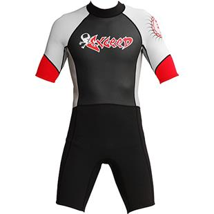 To Exceed Men's Epic 3/2mm Shorty Wet Suit