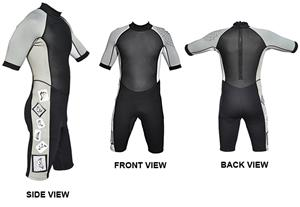 To Exceed Men's Extremity 3/2mm Shorty Wet Suit