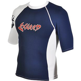 To Exceed Men's Edge Short Sleeve Rash Guard