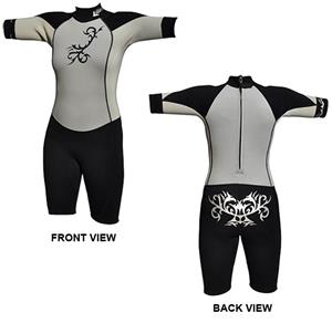 To Exceed Women's Emotion 3/2mm Shorty Wet Suit