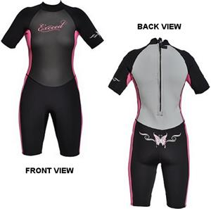 To Exceed Women's Evolution Remix Shorty Wet Suit