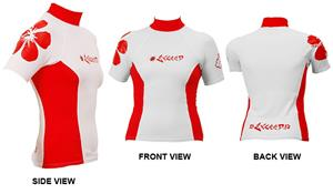 To Exceed Women's Eden Short Sleeve Rash Guard
