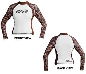 To Exceed Women's Enrage Long Sleeve Rash Guard