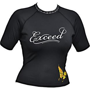 To Exceed Women's Encore Short Sleeve Rash Guard