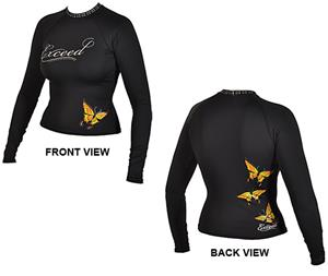 To Exceed Women's Encore Long Sleeve Rash Guard