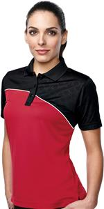 Tri-Mountain Lady Elite Color Block Polo