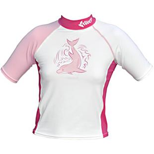 To Exceed Kids Esprit Pink Short Sleeve Rash Guard