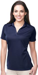 Tri-Mountain Lady Innovate Grid Polo w/ TempDown