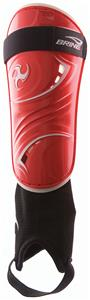 Brine Triumph N2 Red Soccer Shin Guards (PAIR)