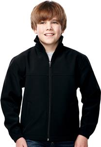 Tri-Mountain Youth Quest Soft Shell Bonded Jacket