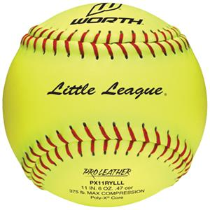 "Worth Little League Junior League 11"" Softballs"