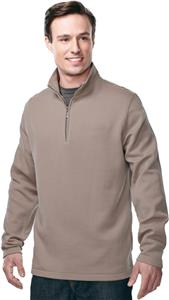 TRI MOUNTAIN Camden 1/4 Zip Knit Pullover