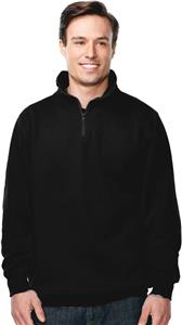 TriMountain Viewpoint 1/4 Zip Sueded Knit Pullover