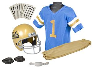 Collegiate Youth Football Team Uniform Set UCLA